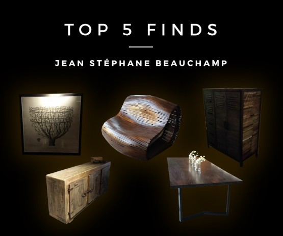 Jean Stephane Beauchamp Artemano Top 5 Finds
