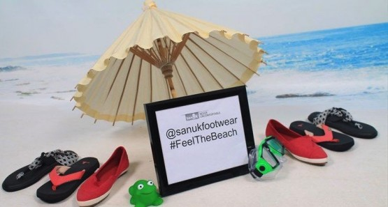 Sanuks on the beach #feelthebeach