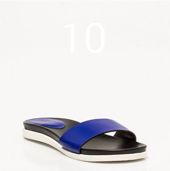 Le Chateau Blue Slides Spring 2015